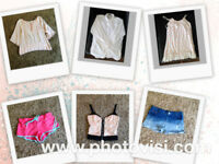 Womens size 10 summer clothes bundle - 6 items