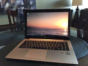 Touchscreen ASUS Ultrabook S400C- Intel i5-3317U CPU @ 1.7 GHz