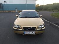 Volvo S60 D5 se Turbo Diesel 2.4cc 160bhp 4 door saloon 53/2003 1 former keeper 62k part service his