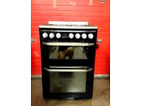 John Lewis JLFSM609 Black Dual Fuel Multifunction Cooker - Free Delivery In Southampton Area