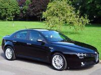 2011 (61) Alfa Romeo 159 2.0 JTDM 16v Lusso 4dr - ONLY 59,000 MILES - FULL BLACK LEATHER
