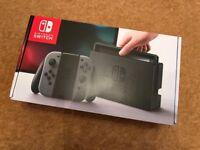 Nintendo Switch Console. Grey. 32gb. Rarely used