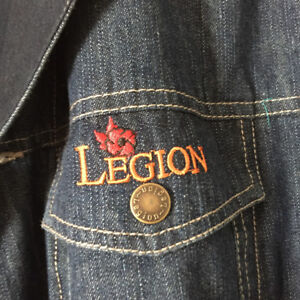 Royal Canadian Legion Jacket $15 (new)