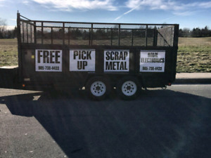 Free Metal Pick Up...Residential and Commercial.