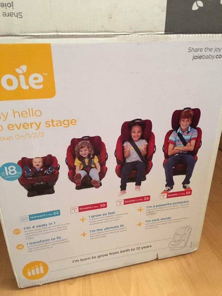 New Joie Every Stage FX Group 0+/1/2/3 Combination Car Seat | in ...