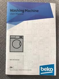Washing machine - brand new 5 months old