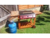 Gas barbeque - Bondi Classic 3 with Calorgas 15 kg cyclinder