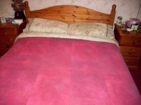 Pine Double Bed Frame (4ft6)