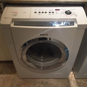 Bosch Nexxt 500 plus washer and dryer set.