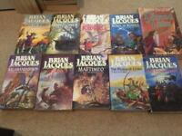 10 redwall books all in very good condition