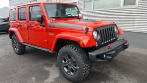 2017 Jeep WRANGLER UNLIMITED Rubicon Recon +Cuir, 2 Toits, Navig