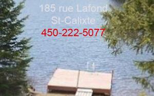 Maison - Bord de l'eau (lac) - Lanaudière - Visite libre