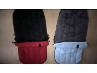 Home clearance- 2 Cosytoe - 2 Way footmuff for sale