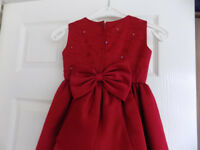 Burgundy Bridesmaid Dress age 4