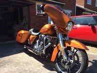 Harley Davidson FLHXS Streetglide special