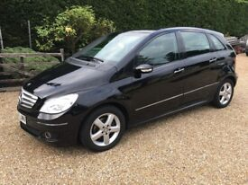 Mercedes B Class 1.8 CDI Diesel Auto SE Model 2008- 08 Plate Only 46,000 Miles Service History,