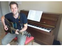 Music tuition for adults! (guitar, piano, bass, songwriting, recording)