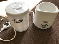 Tomme Tippee travel steriliser and bottle warmer