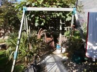 TP double wooden swing for sale