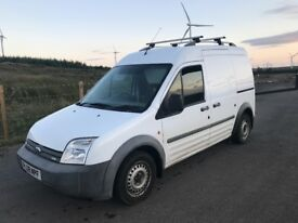 FORD TRANSIT CONNECT LWB HI ROOF LOW MILES ROOF RACK