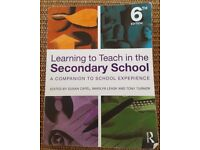 Learning To Teach In The Secondary School: A Companion To School Experience, 6th Ed.
