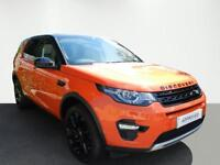 Land Rover Discovery Sport SD4 HSE (orange) 2015-03-31