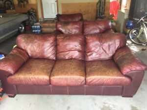 Used couch, loveseat and chair