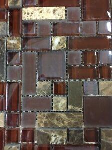 Glass Stone Mosaic Tile - World Class Carpets & Flooring