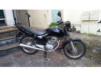 2005 Honda CG 125 Black