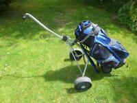 Push pull trolley and bag