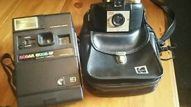 Vintage Kodak film camera x 2