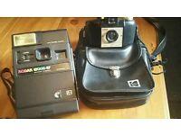 Vintage Kodak film camera x 2