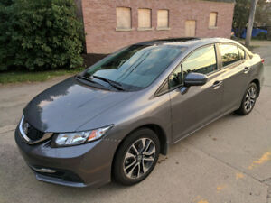 Honda Civic EX 2015 Sedan w/ Winter Tires