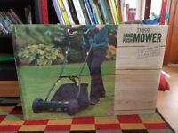 Tesco Handpush lawnmower. Brand new in box.