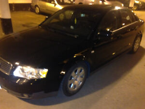 03 Luxury Black on Black Leather Audi A4 Sedan (Best Offer)