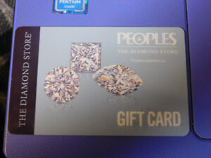 People's Jewellers Gift Card