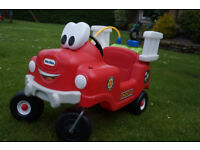 Little Tikes Fire Engine Truck Good Condition