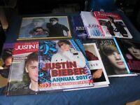 Justin Bieber Books etc x 11