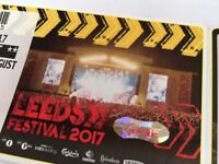 Leeds Weekend Tickets x2