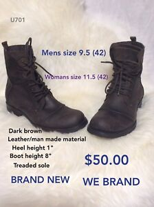 Size 9.5 boots WE Brand