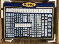 Ring 12v Car Lightbulbs Merchandiser Stand BU194