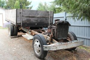 1954 GMC 3 Ton Chassis and Dump Box