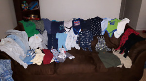 3-6 Month Boy's Clothing - $40