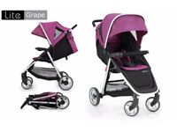 Babystyle oyster lite with purple colour pack