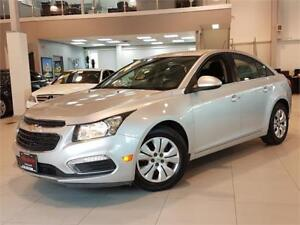2015 Chevrolet Cruze LT-AUTO-REAR CAM-BLUETOOTH-ONLY 38KM