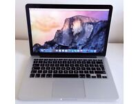 **APPLE MACBOOK PRO RETINA 13.3 - UPGRADED TOP SPEC - EARLY 2015 - 3.1GHZ I7 - 512GB SSD 16GB RAM**
