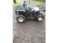 New Force NF150 Quad, starts and runs but needs attention.