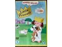 Little Princess DVD Channel 5 Milkshake