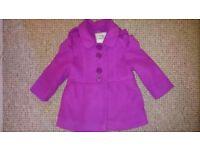 9-12 month girls coat