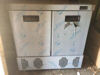 Foster LR 240 Freezer undercounter double door fridge